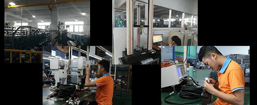 线束生产厂,东莞线材厂家车间图