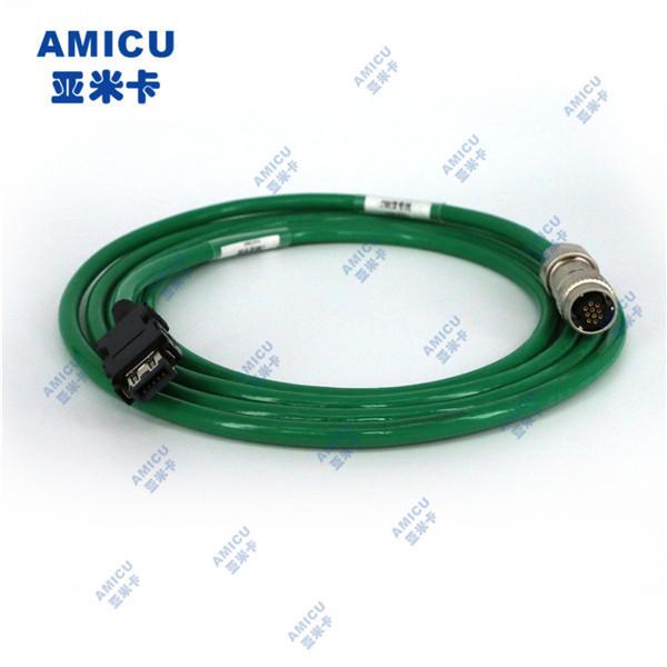 三菱M70伺服电机编码器电缆